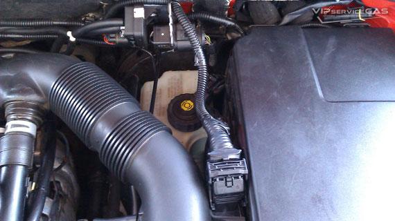 Газ на Audi A3 1.6