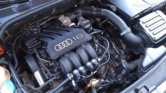 Установка гбо на Audi A3 1.6