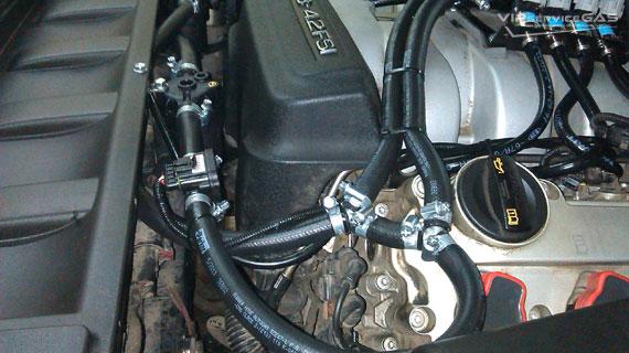 Гбо на Audi Q7 4.2 FSI