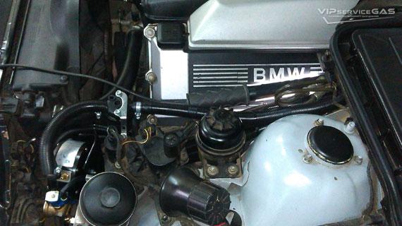 Установка гбо на BMW 544 4.4