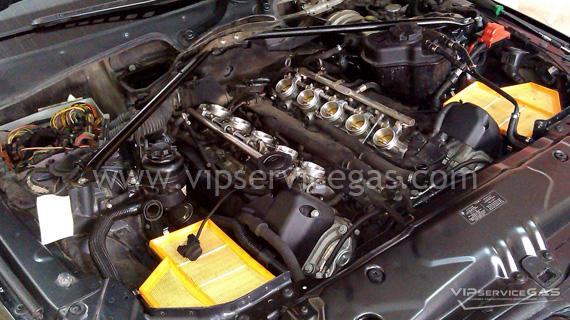 Газ на BMW M5 5.0