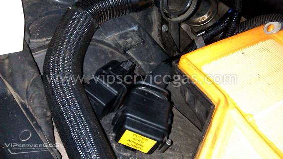 Газовая установка на BMW M5 V10