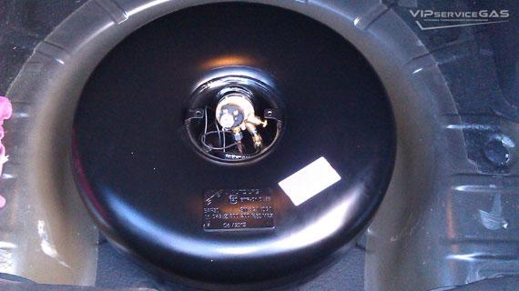 Газовая установка на Chevrolet