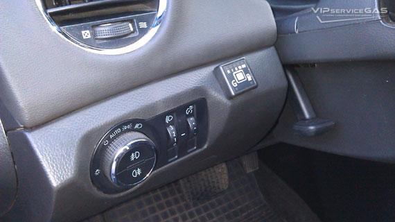 Газобаллонное оборудование на Chevrolet