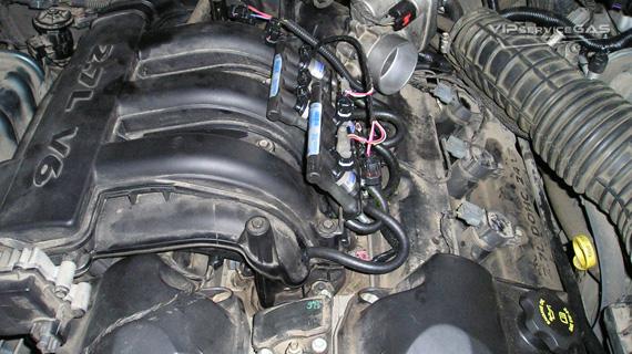 Газовое оборудование на Chrysler 300С