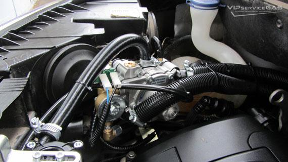 Газовая установка на Citroen C3 Picasso