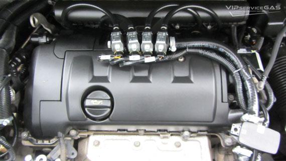 Газ на Citroen