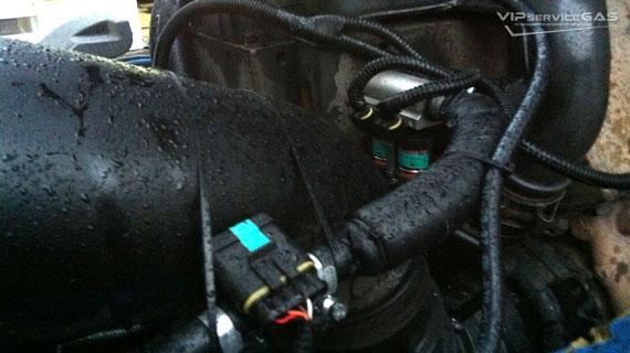 Газовая установка на DAF 75 310 — EURO 3