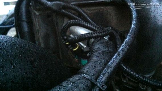 Газобаллонное оборудование на DAF 75 310 — EURO 3