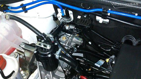 устройство гбо на сжатом газе фиат добло