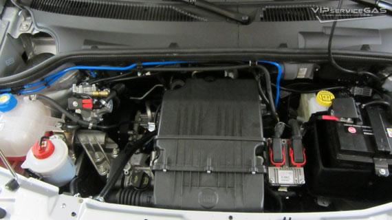 Газ на Fiat Doblo 1.4