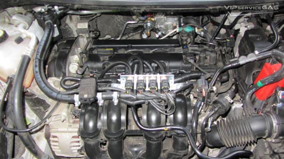 Установка гбо на Ford Fiesta
