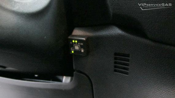 газ на Форд Фиеста 1.6
