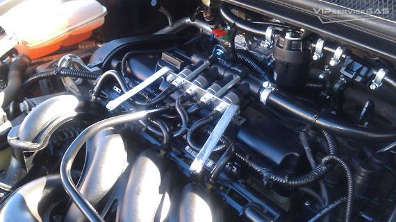 Газовое оборудование на Ford Focus