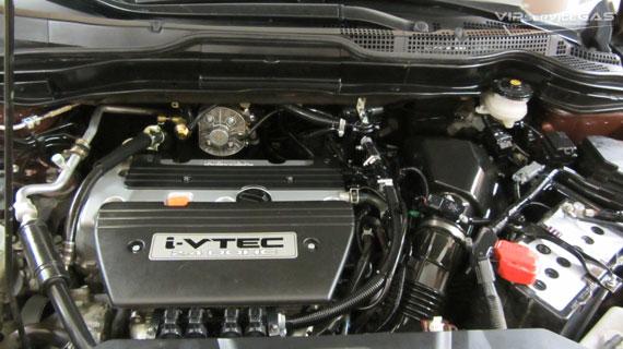 Установка гбо на Honda CR-V 2.4