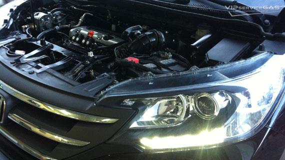Газ на Хонда СР-В 2.4