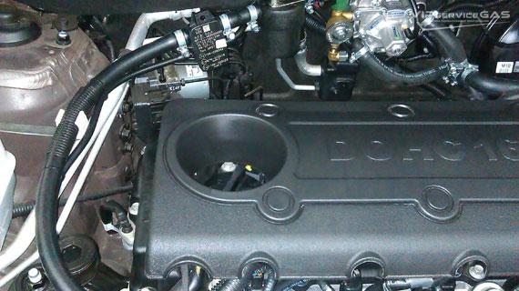 Газ на Hyundai ix35 2.0