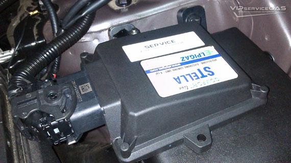 Газ на Hyundai ix35