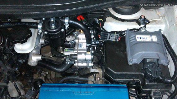 Установка гбо на Hyundai Matrix 1.6