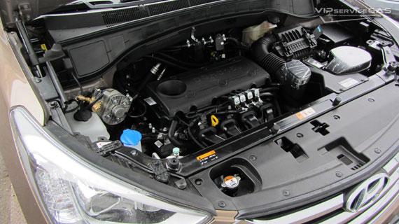 Hyundai Santa Fe газ
