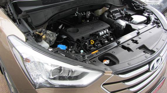 ГБО на Hyundai Santa Fe 2.4