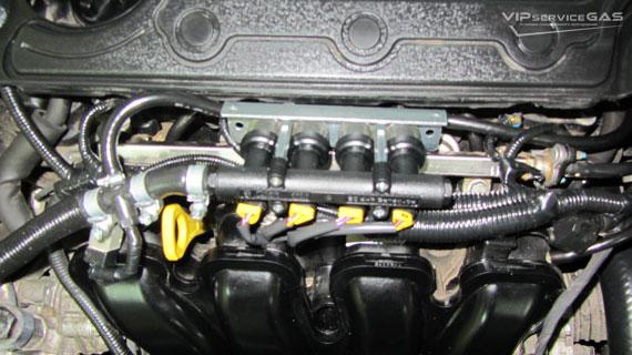 Гбо на Hyundai Sonata 2.4