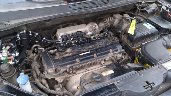 Hyundai Tucson газ