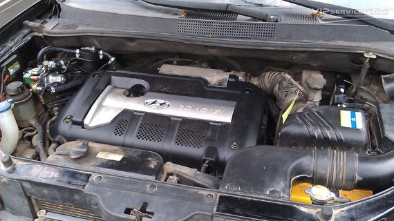 Газовое оборудование на Hyundai Tucson