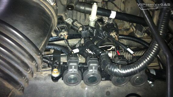 Газ на Jeep Grand Cherokee 4.7
