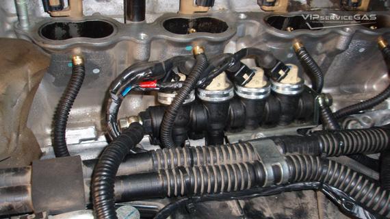 Установка гбо на Lexus LX 570