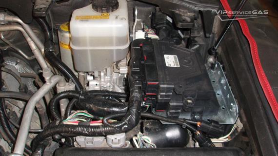 Гбо на Lexus LX 570