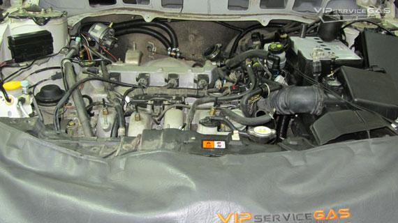 Газ на Mazda CX-7 2.3T
