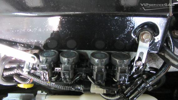 Газ на Mazda CX-7
