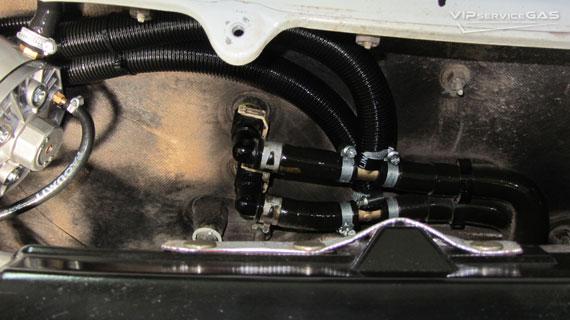 Гбо на Mazda CX-7 2.3