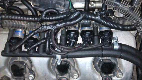 Установка гбо на Mazda CX-9