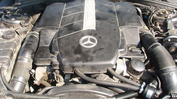 Установка гбо на Mercedes-Benz S-class V8