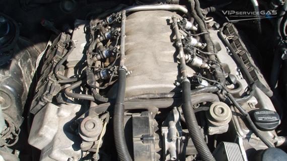 Газ на Mercedes-Benz S-class V8