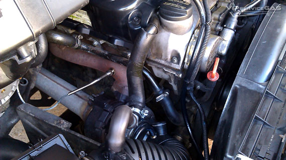 Установка гбо на Mercedes-Benz Sprinter 311 (Thermo) 2.2