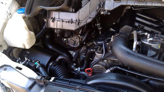 Гбо на Мерседес-Бенц Спринтер 311 Термо 2.2
