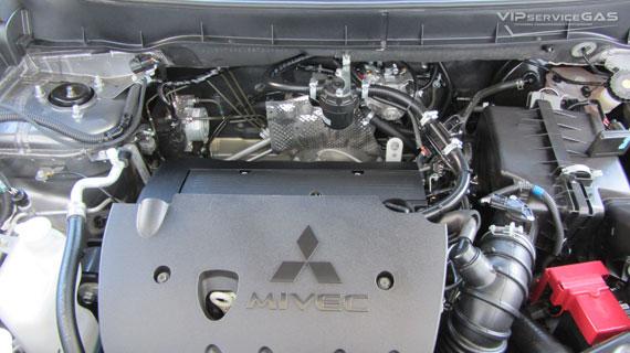 Установка гбо на Mitsubishi ASX 1.8