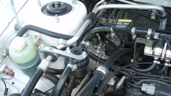 Установка гбо на Mitsubishi Lancer 1.6