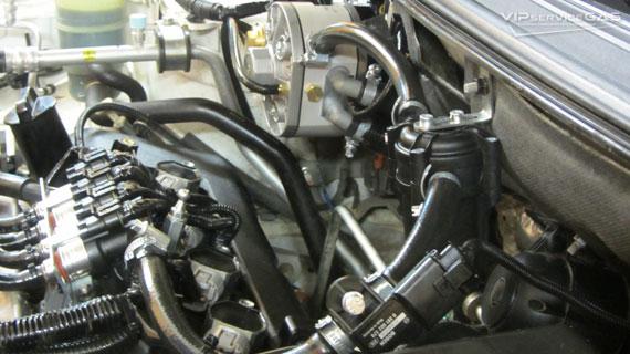 Гбо на Mitsubishi Lancer X