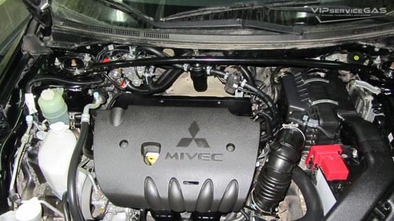 Газ на Мицубиси Ланцер Х 2.0
