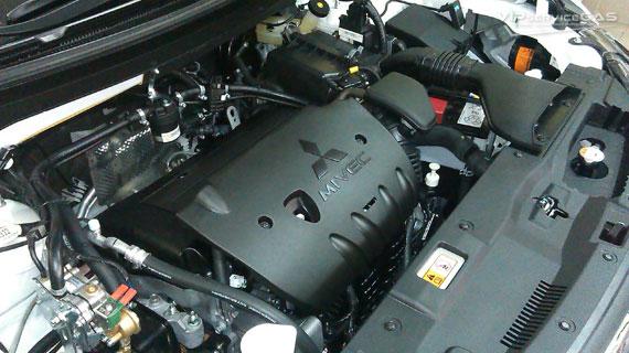 Газ на Мицубиси Аутлендер 2.4