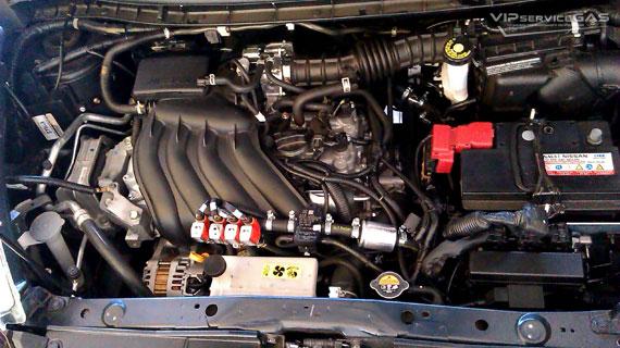Гбо на Nissan Juke 1.6