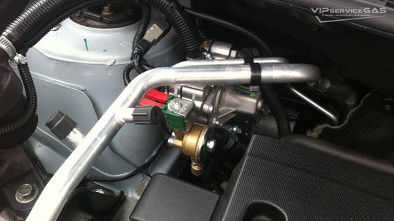 Газ на Nissan Qashqai 2.0