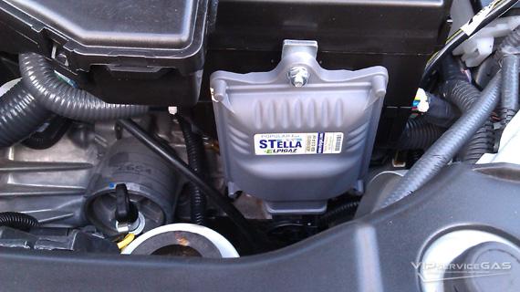 Гбо на Nissan Tiida 1.6