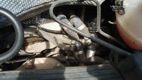 Газ на Opel Vectra 2.2