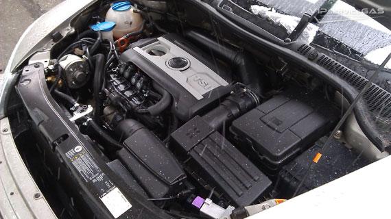 Газ на Skoda Octavia A5 1.8