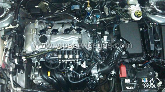 Гбо на Toyota Auris 1.6